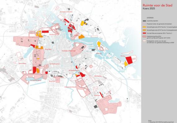 Koers 2025: Ruimte voor de stad